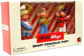 Vintage Kelloggs Snap! Crackle! Pop! PVC Set