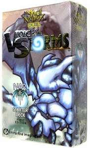 Magi Nation Duel Card Game Voice of the Storms Theme Deck Nar