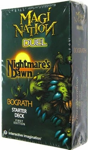 Magi Nation Duel Card Game Nightmare's Dawn Starter Deck Bograth