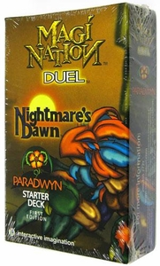 Magi Nation Duel Card Game Nightmare's Dawn Starter Deck Paradwyn