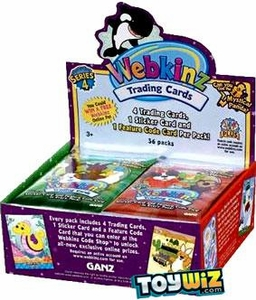Webkinz Trading Cards Series 4 Booster Box [36 Packs]