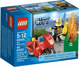LEGO City Set #60000 Fire Motorcycle