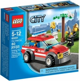 LEGO City Set #60001 Fire Chief Car