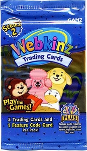 Webkinz Trading Cards Series 2 Booster Pack BLOWOUT SALE!