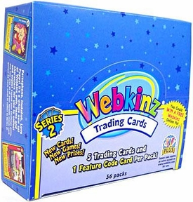 Webkinz Trading Cards Series 2 Booster BOX [36 Packs]