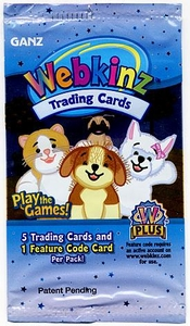 Webkinz Trading Cards Series 1 Booster Pack
