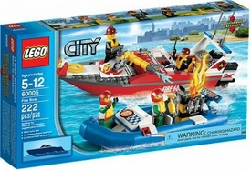 LEGO City Set #60005 Fire Boat