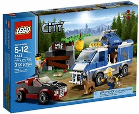 LEGO City Set #4441 Police Dog Van