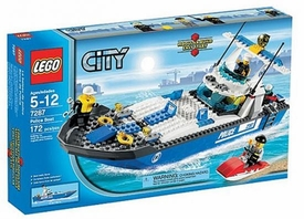 LEGO City Set  #7287 Police Boat