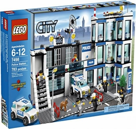 LEGO City Set #7498 Police Station