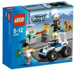 LEGO City Set #7279 Police MiniFigure Collection