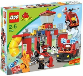 LEGO DUPLO LEGO Ville Set #5601 Fire Station