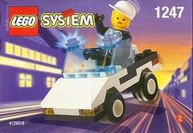 LEGO City Set #1247 Patrol Car