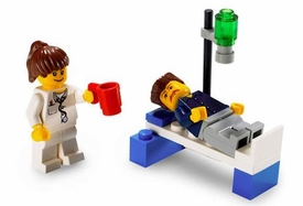 LEGO City Mini Figure Set #4936 Doctor & Patient