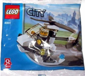 LEGO City Set #4991 Police Helicopter [Bagged]
