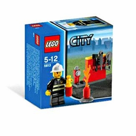 LEGO City Exclusive Set #5613 Firefighter
