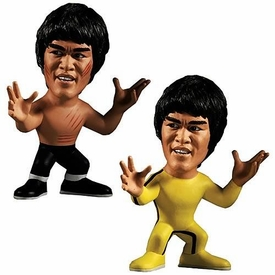Round 5 Set of Both Bruce Lee 5 Inch Series 1 Titan Figures [Enter the Dragon & Game of Death]