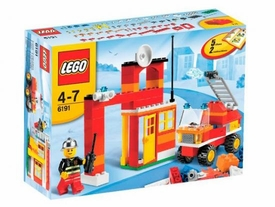 LEGO City Set #6191 Fire Fighter Building