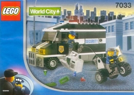 LEGO City Set #7033 Armored Car