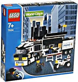 LEGO City Set #7034 Surveillance Truck