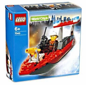LEGO City Set #7043 Firefighter