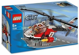 LEGO City Set #7238 Fire Helicopter