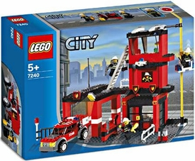 LEGO City Set #7240 Fire Station