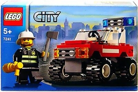 Lego City Set #7241 Fire Chief Car