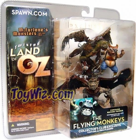 McFarlane Toys Twisted Land of Oz Exclusive Action Figure Flying Monkeys Impossible to Find!