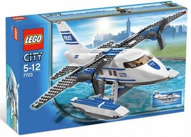LEGO City Set #7723 Police Pontoon Plane