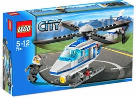 LEGO City Set #7741 Police Helicopter