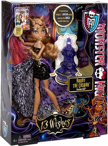 Monster High 13 Wishes Haunt the Casbah Deluxe Doll Clawdeen Wolf