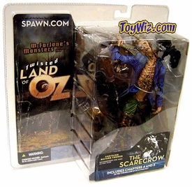McFarlane Toys Twisted Land of Oz Action Figure Scarecrow