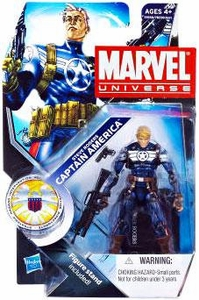 Marvel Universe 3 3/4 Inch Series 15 Action Figure #21 Steve Rogers Captain America