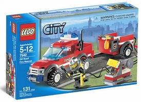 LEGO City Set #7942 Off-Road Fire Rescue