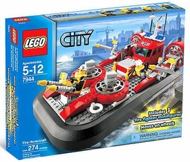 LEGO City Set #7944 Fire Hovercraft