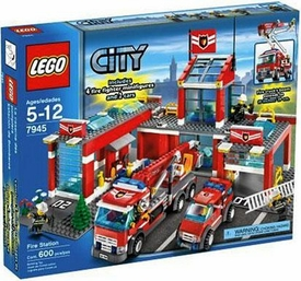 LEGO City Set #7945 Fire Station