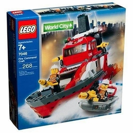 LEGO City Set #7046 Fire Command Craft