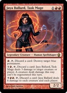 Magic the Gathering Premium Deck Series: Fire and Lightning Single Card Rare #10 Jaya Ballard, Task Mage