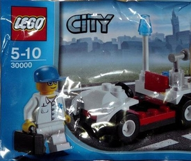 LEGO City Set #30000 Doctor with Car [Bagged]