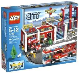 LEGO City Set #7208 Fire Station