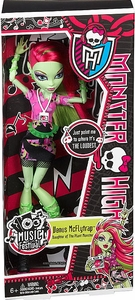 Monster High Music Festival Basic Doll Venus McFlytrap
