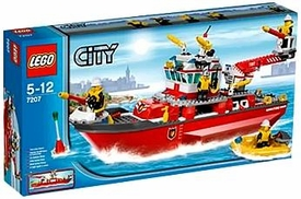 LEGO City Set #7207 Fire Boat