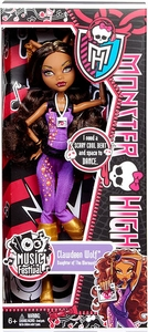Monster High Music Festival Basic Doll Clawdeen Wolf