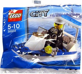 LEGO City Exclusive Set #30002 Police Boat [Bagged]