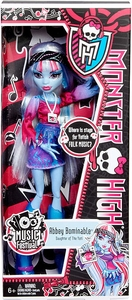 Monster High Music Festival Basic Doll Abbey Bominable