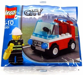 LEGO City Exclusive Set #30001 Fireman's Car [Bagged]