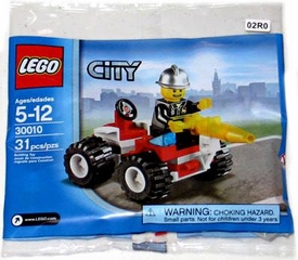 LEGO City Set #30010 Fire Chief [Bagged]