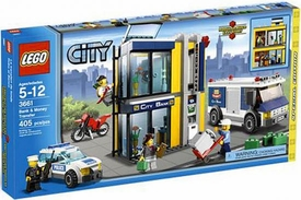 LEGO City Exclusive Set #3661 Bank & Money Transfer
