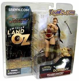 McFarlane Toys Twisted Land of Oz Action Figure Dorothy [NO Shroud]